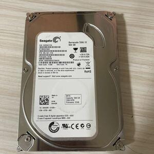 A2409:動作保証/使用1708時間▲Seagate▲SATA【ST3500418AS】500GB 薄型 3.5インチ