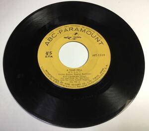 EPレコード レイ・チャールズ『涙ながれて/一人さびしく』シングル盤