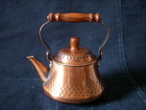 銅製 急須 煎茶道具