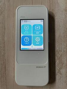 モバイルルーター 楽天UN-LIMIT設定済 Wi-FiルーターSpeed Wi-Fi NEXT W04ホワイト au 周辺機器