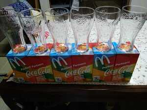 コカ・コーラグラス 6個セット