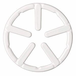 パール金属(PEARL METAL) ミニ五徳 ホワイト 外径14cm 鉄鋳物製 ミニ ホーロー加工 フェール HB-4197 白