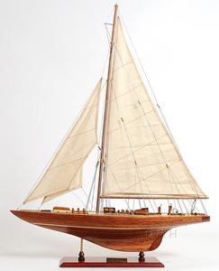 ●新品特価 美しいヨット・エンデバー60cmL 精密級 木目調完成品