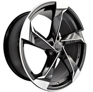 20インチ Black ホイール ( 4本セット ) アウディ A5 A6 A7 A8 S5 S6 S7 S8 RS5 RS6 RS7  -DFO-1040