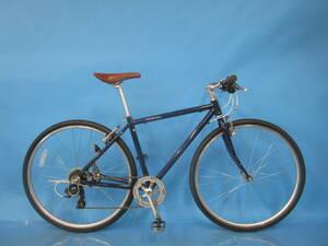 即決 ☆大阪西淀☆ 整備済 クロスバイク 前後タイヤ新品 アルミフレーム クロスバイク 700C 外装7段変速 シマノ 中古 自転車 JL34