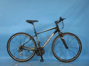 ☆大阪西淀☆ CANNONDALE QUICK4 前後タイヤ新品 アルミフレーム クロスバイク 700C 3×8 キャノンデール シマノ ALIVIO 中古 自転車 A35