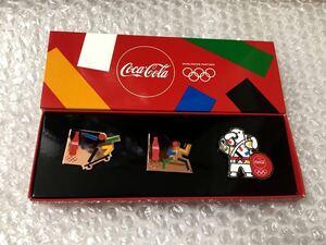 即決★非売品★新品★東京2020オリンピック★パラリンピック★コカコーラ Coca-Cola★ピンバッジ★ピンバッチ★ピンズ★柔道