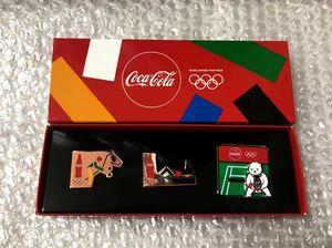 即決★非売品★新品★東京2020オリンピック★パラリンピック★コカコーラ Coca-Cola★ピンバッジ★ピンバッチ★ピンズ★テニス