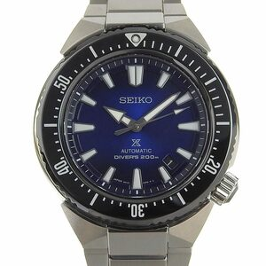 【本物保証】 箱・保付 美品 セイコー SEIKO プロスペック メンズ 自動巻き オートマ 腕時計 青文字盤 SBDC047