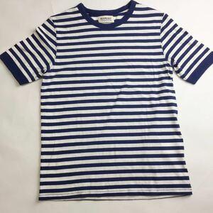 【美品】 BEAMS BOY ビームスボーイ Tシャツ ボーダー トップス 半袖 (管理番号5380) サイズSくらい