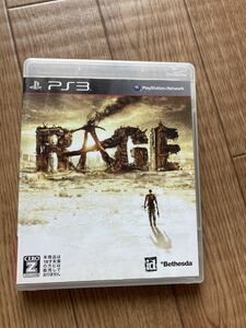 PS3ソフト RAGE レイジ