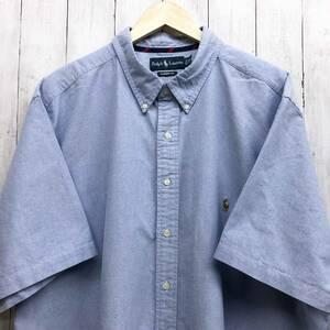 ラルフローレン POLO Ralph Lauren Polo 半袖シャツ メンズ ワンポイント 3XLサイズ 7-167