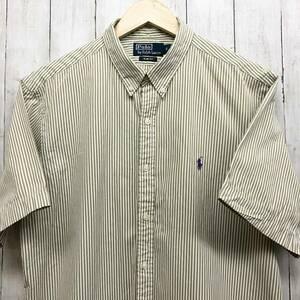 ラルフローレン POLO Ralph Lauren Polo 半袖シャツ メンズ ワンポイント XLサイズ 7-184