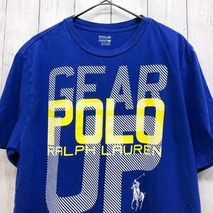 ラルフローレン POLO Ralph Lauren Polo 半袖Tシャツ メンズ ワンポイント XLサイズ 9-87
