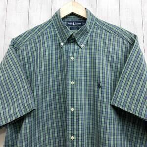 ラルフローレン POLO Ralph Lauren Polo 半袖シャツ メンズ ワンポイント Lサイズ 7-190