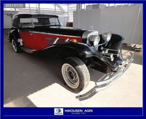 Classic car : replica :SSK: Mitsuoka : the first period :500K: Benz : open type : restore : base : parts : parts : Nissan :VG30:HIKOUSEN