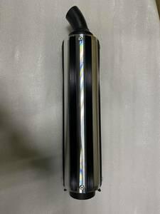 Fタイプ 黒 ブラック50.8π/汎用 モリワキ フォーサイトBEETサイレンサーZ400FXゼファーZ400GP GPZ400F バリオス χ キジマ ヨシムラ外装