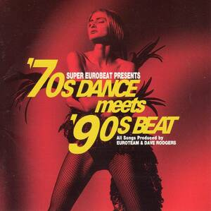 ユーロビート/ディスコ★SUPER EUROBEAT PRESENTS '70s DANCE MEETS '90s BEAT★ジンギスカン.ラスプーチン.愛のコリーダ