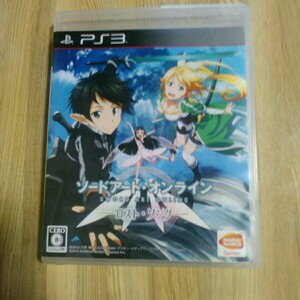 PS3 ソードアート・オンライン  ロスト・ソング ゲームソフト
