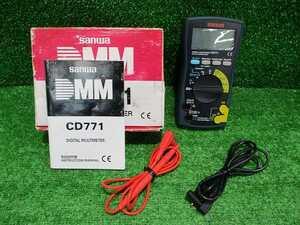 【SANWA/三和】CD771 デジタルマルチメーター