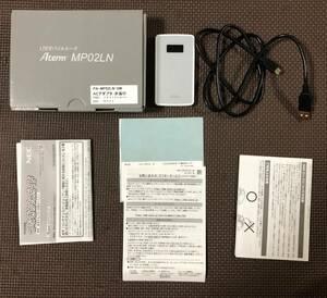 NEC Wi-Fiルータ モバイルルータ Aterm MP02LN