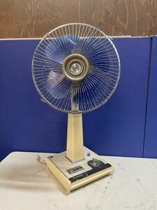 7388 昭和レトロ 東芝 TOSHIBA 扇風機 H-30AT 4枚羽 ビンテージ アンティーク 動作確認済