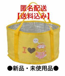 送料無料●新品 未開封 未使用*ミニオン 折りたたみ 保冷バッグ レジャーバッグ コンパクト ミニオンズ クーラーバッグ エコバッグ 大容量