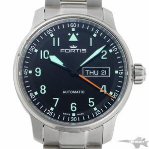 FORTIS フォルティス フリーガー デイデイト オートマチック 704.21.158 SS メンズ 時計 2110018