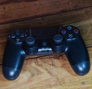 PS4 ワイヤレスコントローラー 互換品 動作確認済み ブラック