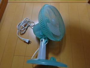 【山善】卓上扇風機
