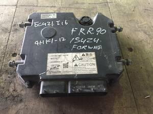 ECU21I16 Forward FRR90 engine computer - unit ECU 4HK1-12 8983458430 used law 2000