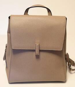 最高峰 ¥460.900- 極美品! 世界で最も優れた革製品 ヴァレクストラ VALEXTRA イジィデバックパック iside backpack