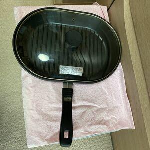 グリルパン 魚焼き IH対応 深型