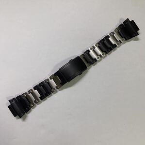 G-SHOCK カスタム用 互換 メタル ベルト ステンレス製 5600系5610系 dw6900 バント ステンレス ブラックxシルバー