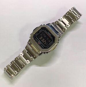 G-SHOCK Gショック ジーショック CASIO カシオ デジタル 腕時計 5610su-8dr ステンレスフルメタルカスタム