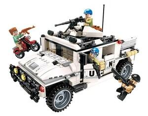 ハマー(hummer)風 戦車 タンク ブロック ミニフィグ レゴ 互換 LEGO 互換 テクニック フィギュア 452pcs 07448