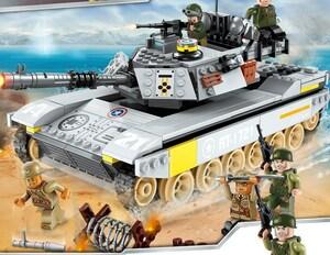 戦車 タンク ブロック ミニフィグ レゴ 互換 LEGO 互換 テクニック フィギュア 482pcs 07447