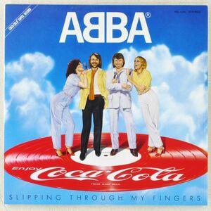 ■アバ(ABBA) Slipping Through My Fingers <EP 1981年 非売品・日本盤>コカ・コーラ盤 ピクチャーディスク 7'