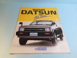 日産 ニッサン ダットサントラック 4WD ピックアップ 昭和60年 全23ページ カタログ 昭和の車