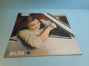 マツダ ニュー ファミリア 1000 1967年 全16ページ カタログ 自動車 昭和の車