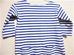 〇良品 ビームス別注 オーチバル ポケット付き バスクシャツ 40周年 サイズ12〇
