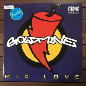●【eu-rap】Goldmine / Mic Love[12inch]オリジナル盤《4-2-100》