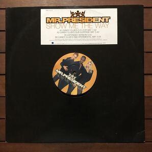 ●【reggae-pop】Mr.President / Show Me The Way[12inch]オリジナル盤《3-1-70 9595》