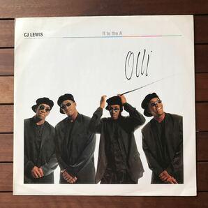 ●【reggae-pop】CJ Lewis / R To The A[12inch]オリジナル盤《1-1》