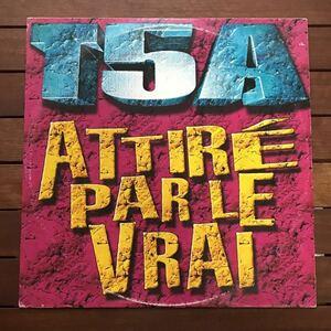 ●【eu-rap】T5A / Attire Par Le Vrai[12inch]オリジナル盤