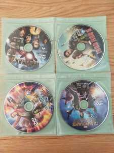 早い者勝ち マーベル DVD 4点セット 国内正規品 未再生 アイアンマン ガーディアンズ・オブ・ギャラクシー タイトル変更自由