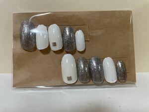 nail ネイルチップ ミディアムオーバル