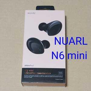 美品★NUARL N6 mini ブラック★ヌアール 完全ワイヤレスイヤホン bluetooth 検索)N10 Pro