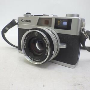 キャノン canon Canonet QL17 ケース付き レトロ フィルムカメラ ジャンク 60