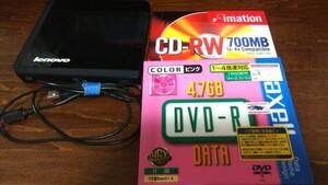 Lenovo ポータブル中古DVDマルチレコーダー おまけ付き